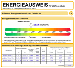 Energieausweis bei Nord-Ostsee-Immobilien